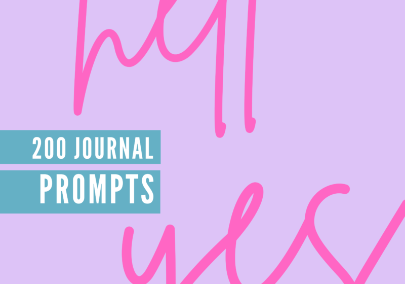 Journal Prompts For High Vibe Living